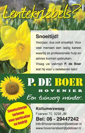 Hovenier P. de Boer Winterklaar